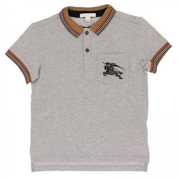 69b7c28ba3c2 Футболка для мальчиков BURBERRY Серый   футболка детское Burberry ...