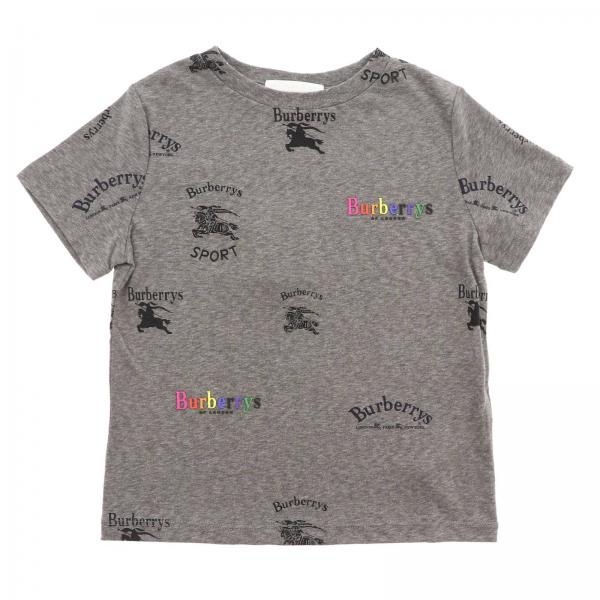 7801d4fa2052 T-shirt little boy Burberry Grey