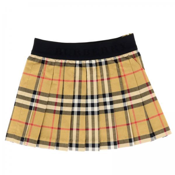 c8f56e65d2595 Burberry Layette Little Girl s Beige Skirt