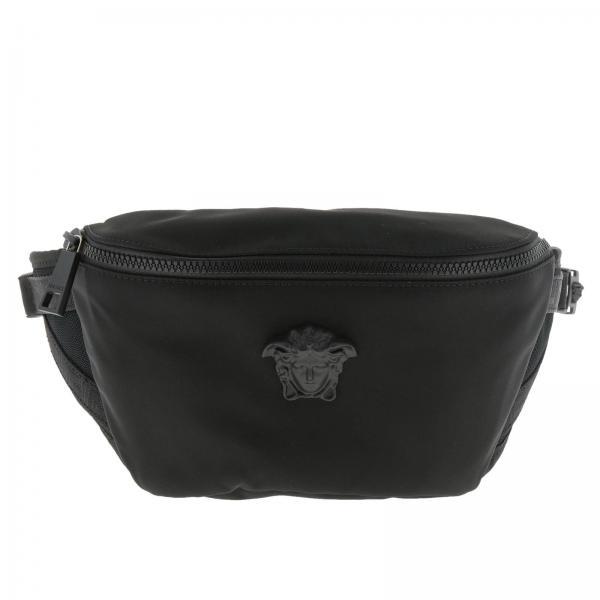 9b35bb2957dc Belt Bag Men Versace Black