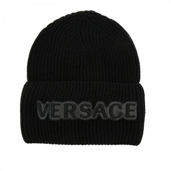 Hat Men Versace Black 70f5148c9f1