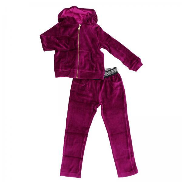 bda88b464df7 Versace Young Little Girl s Fuchsia Tracksuit