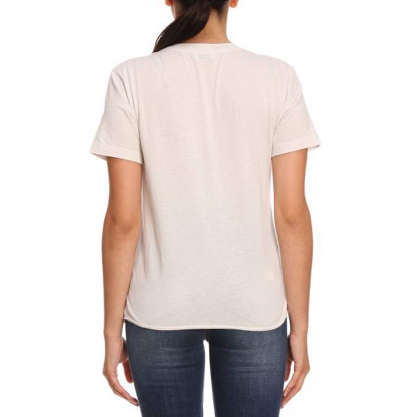Laurent Girocollo Stampa Maxi shirt Saint In T Cotone A Con 80OknwPX
