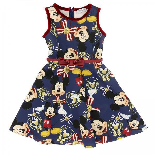 Monnalisa Little Girl s Blue Dress  aaf5c1802d9