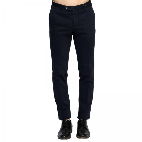 Pantalone Business slim soft touch stretch in cotton garment 470gr
