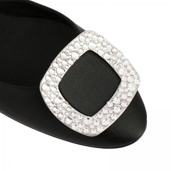 Ballerina Strass Chips Raso Buckle In MqVUzSGp