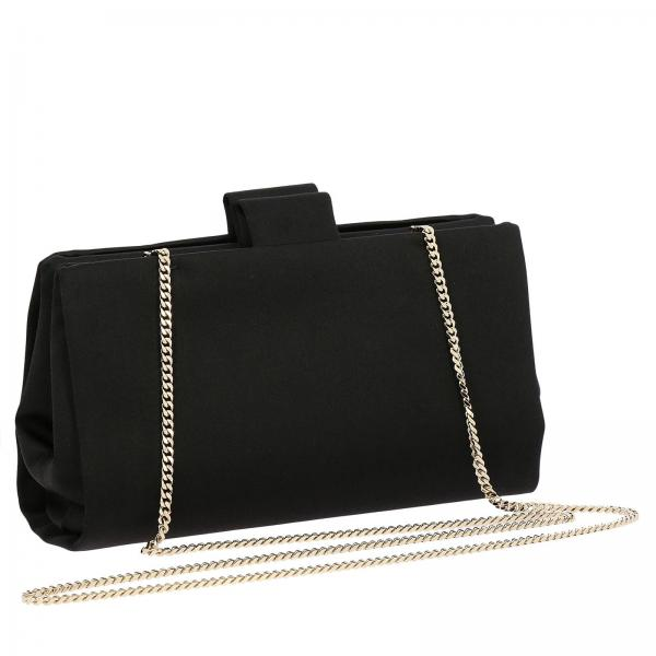 Rbwamed0100 Flowers Con Maxi Rs0 Roger VivierSoft In Buckle Strass Donna Clutch Raso OkXw80PNn