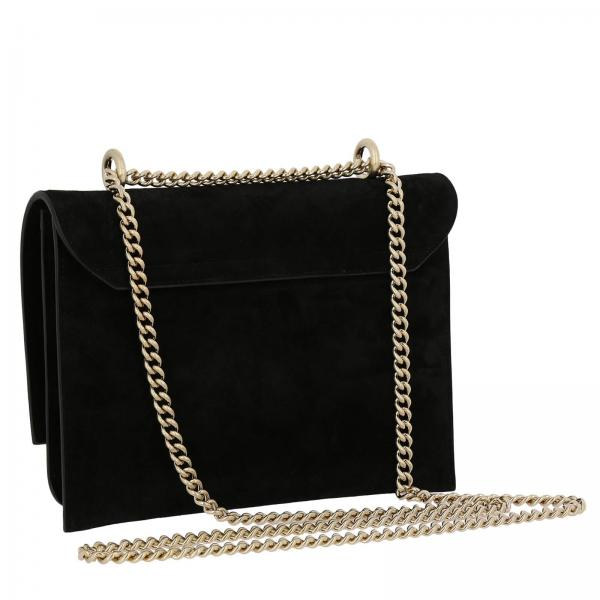 Donna Roger In Evening Camoscio Bag Chain Mini O20 VivierClutch Borsa Gold Buckle Rbwamub0200 WDH9E2IeY