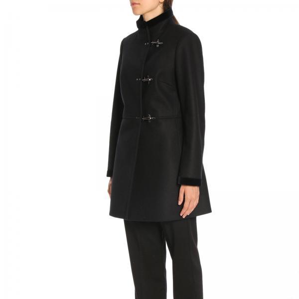 Alamari Fay Virginia Vergine In Tre Di Lana Panno Cappotto E Cashmere Con xBorCed