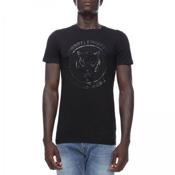 T Shirt Fur Herren Plein Sport Schwarz T Shirt Plein Sport