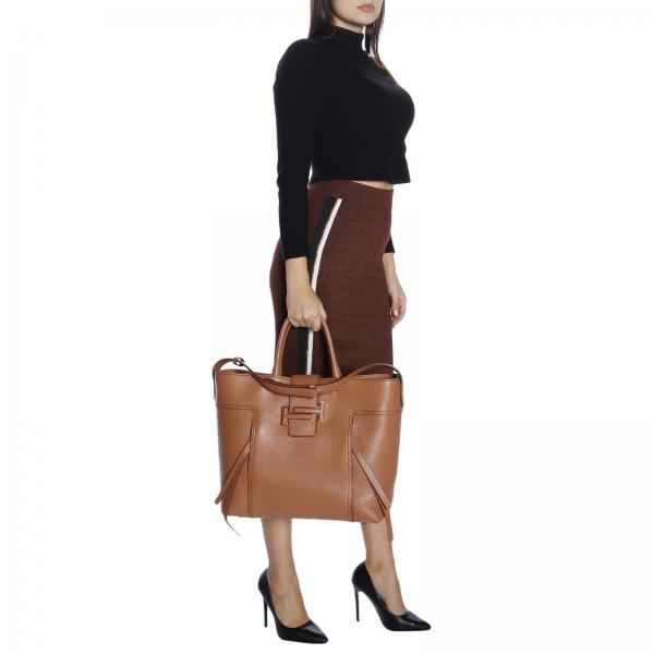 A Shopping Borsa CuoioDouble Pelle Jm7 Grana Xbwdota0400 T Large Donna Mano Tod's In ordBexCW