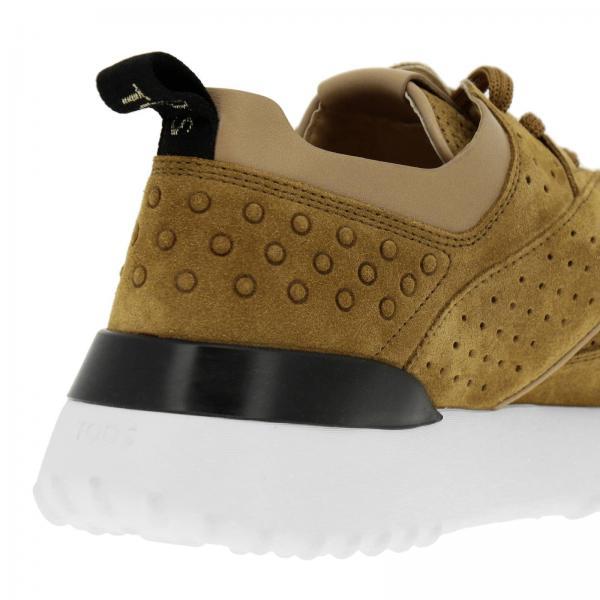 Pelle Sneakers Running E Camoscio Suola Gomma In Con 4LAR5j