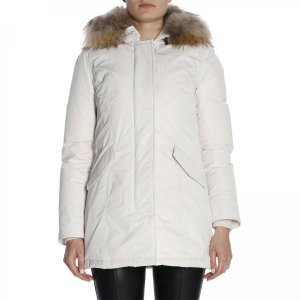 Chaqueta Yellow Mujer Yellow Chaqueta Woolrich Woolrich Mujer Cream pOtBqww