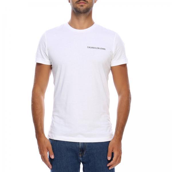 T-shirt Men Calvin Klein Jeans  b44a8c75427