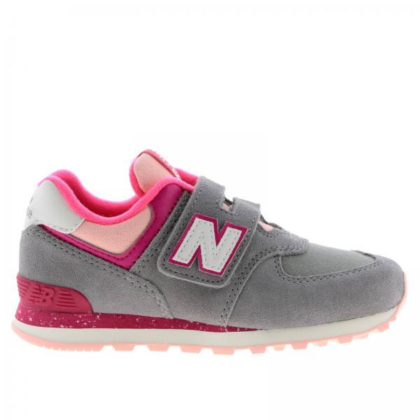 Fille Enfant Balance Chaussures Gris New OSqzHSwxB