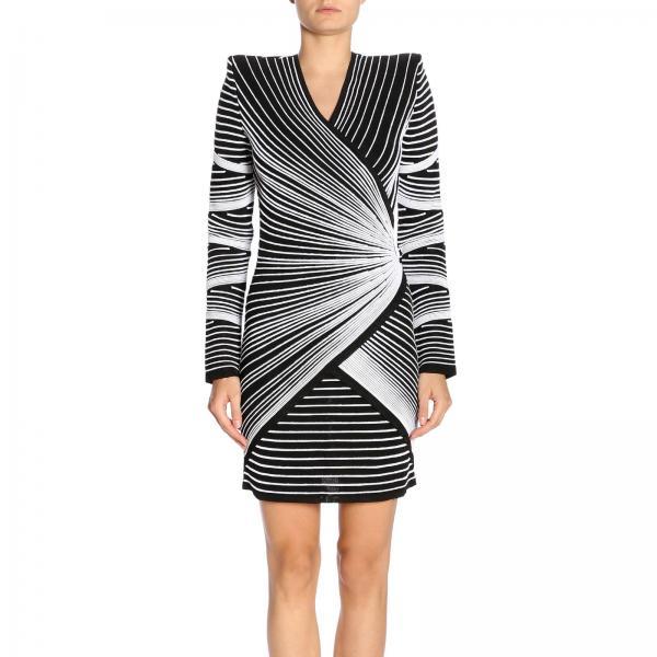 bfaee217198 Balmain Women s Black Dress