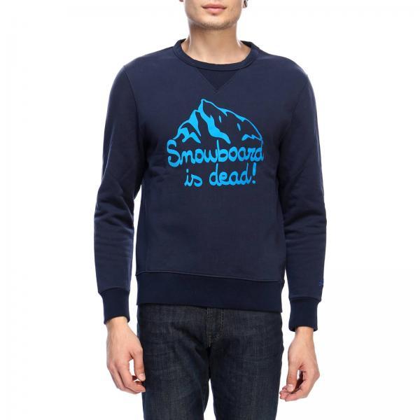 Felpa Soho Dead Snowboard 61 a girocollo con maxi stampa