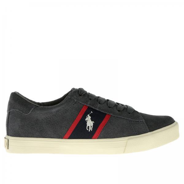Zapatos Niño Polo Ralph Lauren Gris a4ecce61af5