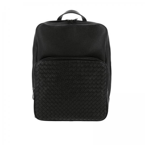 094f700b43cd Bottega Veneta Men s Black Backpack