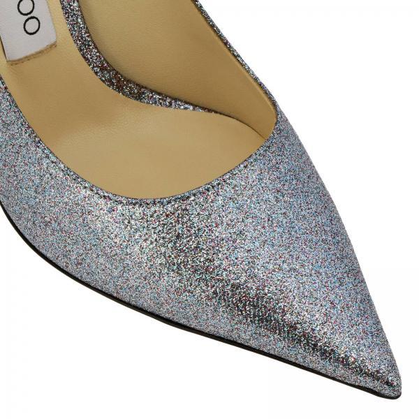 Choo Salón De 100 verano Dirgiglio Zapatos Love Plata Jimmy Mujer Primavera 2019 pfI17q