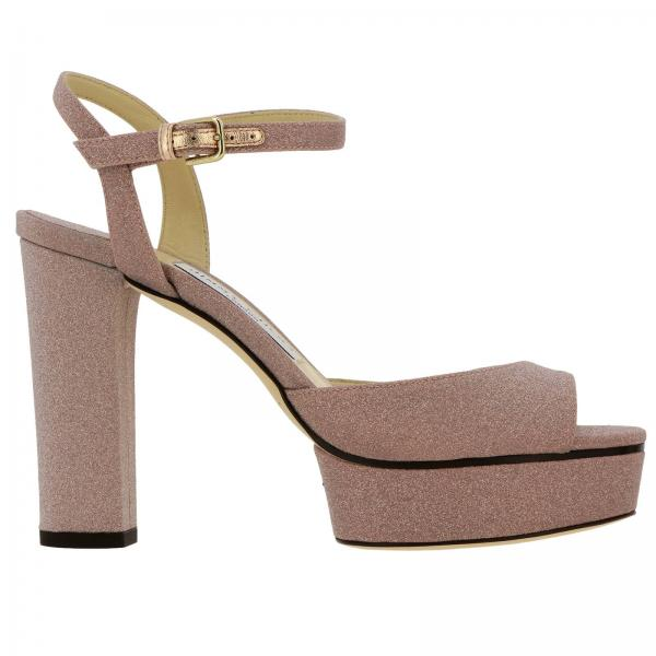 Heeled sandals Jimmy Choo PEACHY 105 XGC