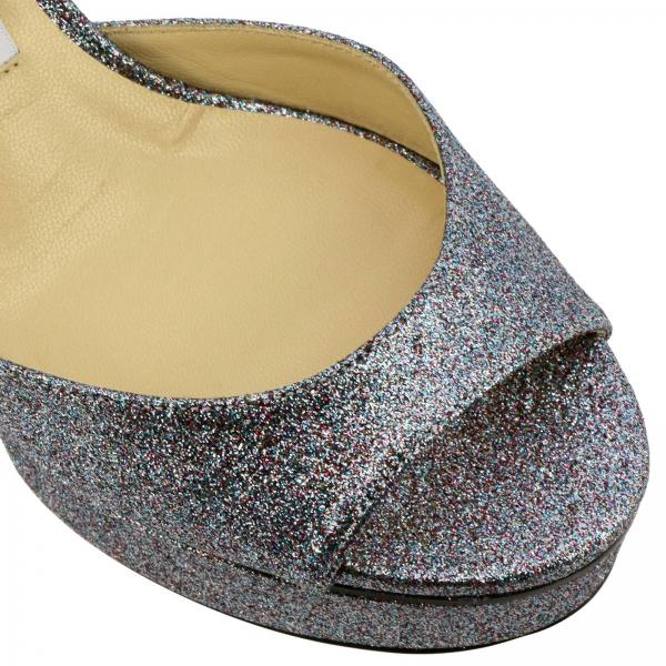 Glitter Sandalo Peachy Glitter Tessuto In Peachy Sandalo Sandalo In Tessuto RLAj54