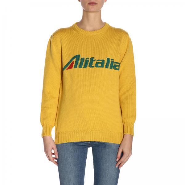Vergine Lana Alitalia Pura Ferretti Merinos Pullover Alberta In pGSMLUVqz