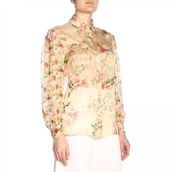 Alberta Mujer verano Ivory Ferretti 2019 1471giglio A0201 Camisa Primavera Z7OPxwzz