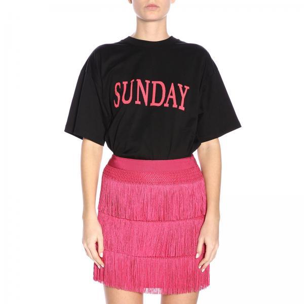 A T Rainbow Corte Maniche Week shirt Sunday PwOkXuZTil