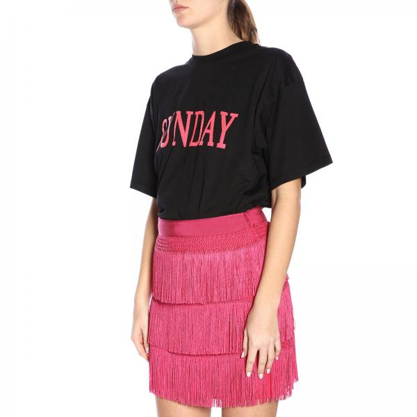 verano 2019 Alberta J0703 Negro Mujer Camiseta 172giglio Primavera Ferretti 58UnP0wqO