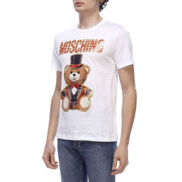 Circus shirt Maxi Corte Con T Maniche Moschino Stampa Teddy A 9EIDH2