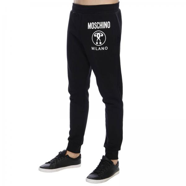 Moschino Stampa Pantalone Jogging Maxi Con Recycle WEH9IYD2