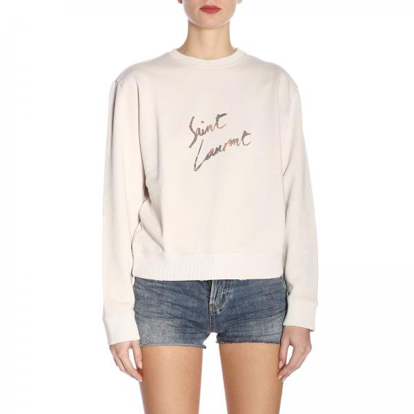 Saint Laurent verano Blanco 547935 Jersey Mujer Yb2zwgiglio 2019 Primavera n4O7Sxwq