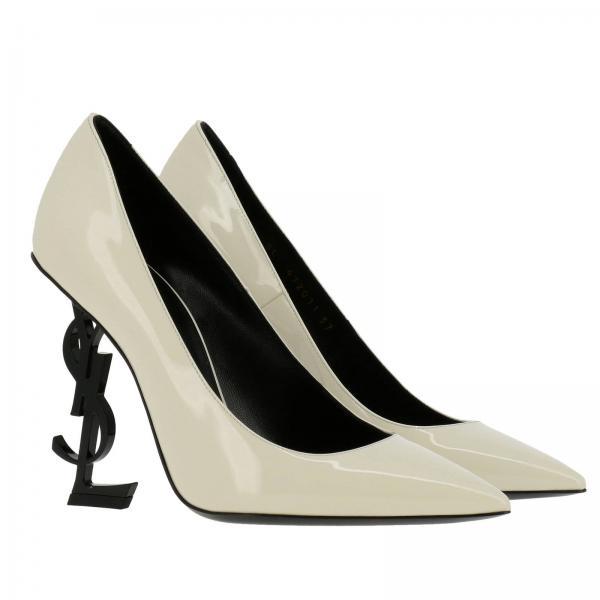 472011 De Saint Laurent Zapatos Primavera Salón Cream 2019 Mujer verano Yellow 0npvvgiglio 0qSdwUFd