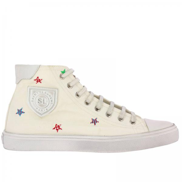 Sneakers Polacco Used Stringata Stelle Effetto Con All In Over Multicolor A Tela FKJcl1