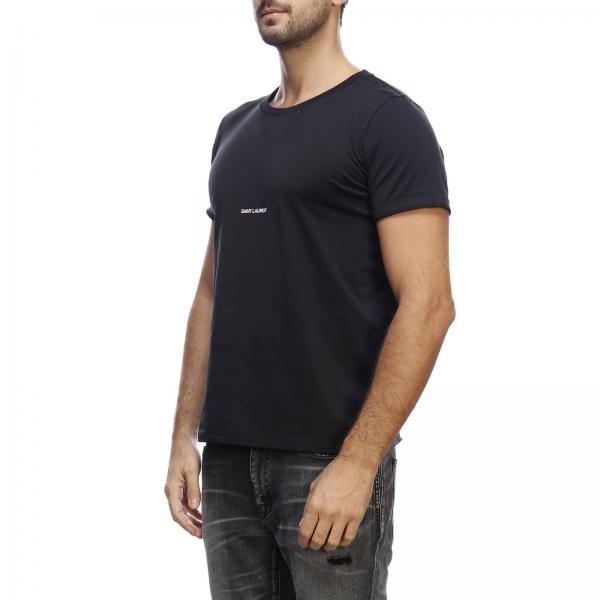 Basic Laurent Con Girocollo In A shirt Saint T Jersey Micro Stampa zUGqSMVp