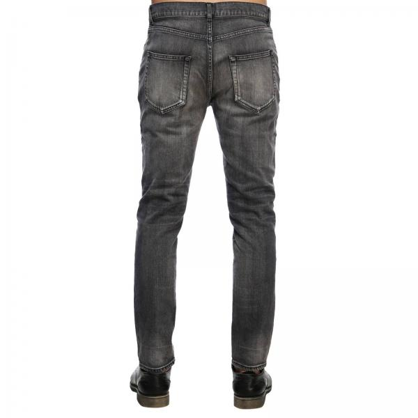 E 5 Stretch Con A In Used Regolare Cropped Vita Tasche Denim Skinny Fit Jeans Effetto nkO0w8P