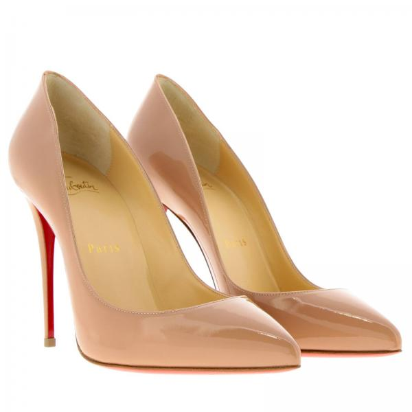 Décolleté Pigalle Louboutin Classic Follies In Christian Vernice I7gvbfyY6m