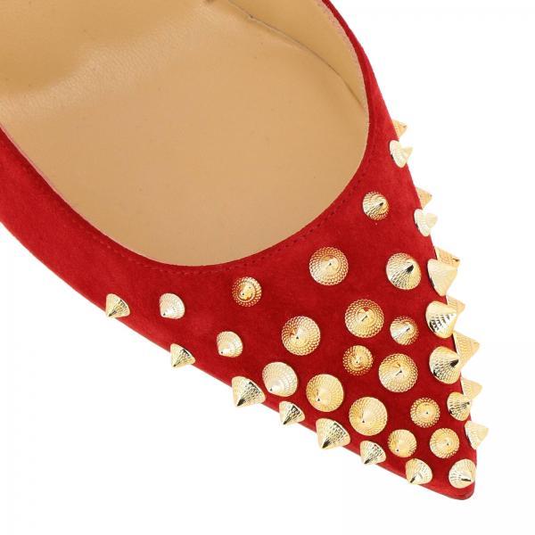 Salón De Christian Coral 2019 Primavera 1180045giglio Louboutin Mujer Zapatos verano wqCd5Tw