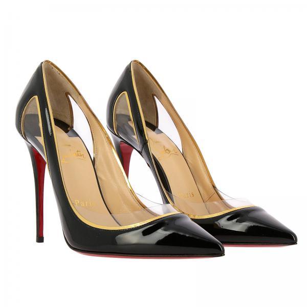 Primavera 2019 Christian Zapatos Salón verano 1190644giglio Louboutin De Mujer Negro wRUnqz0R