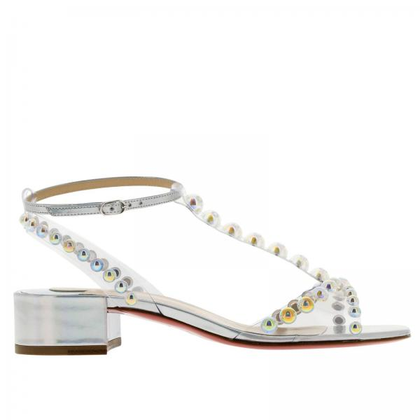 magasin en ligne 35139 81e78 Heeled Sandals Shoes Women Christian Louboutin