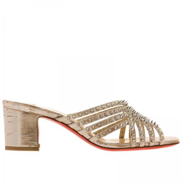 buy online 0da36 d0269 Women's Heeled Sandals Christian Louboutin