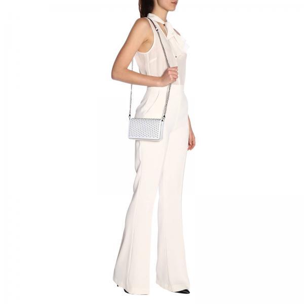 Bolso Christian verano Primavera Louboutin 1195349giglio Mujer Blanco 2019 Mini dpqUxnRd