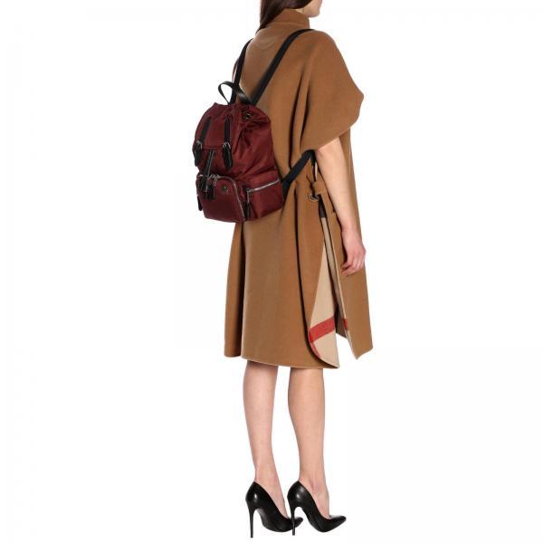 Burgundy Burberry verano Mochila Mujer Abwlngiglio 8006722 2019 Primavera 1FnF7Ax