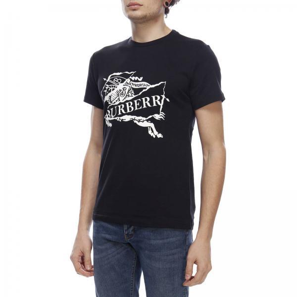 Primavera Negro Abtotgiglio 8007016 Hombre Burberry Camiseta verano 2019 xqWXwgTWOf