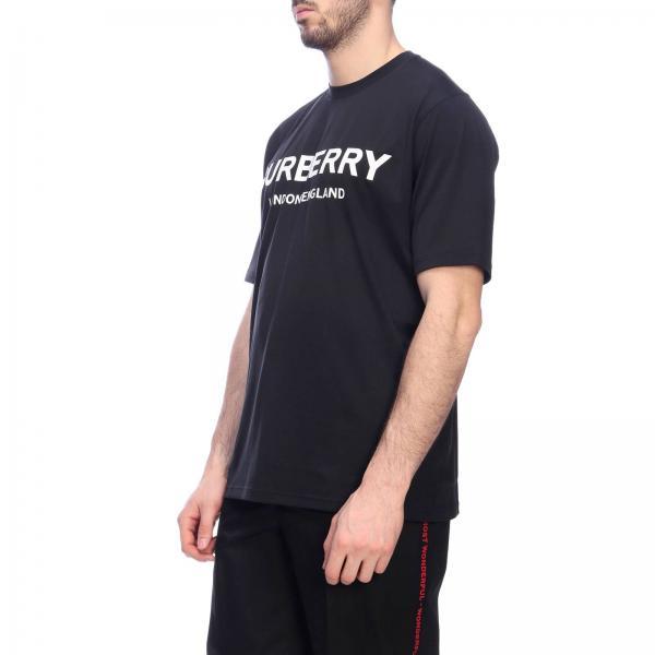 8009494 Primavera Negro 2019 113839giglio Camiseta verano Hombre Burberry q6zB8t