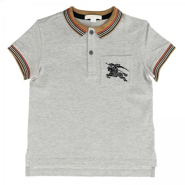 a95fa0c434 Camiseta Niño Burberry Gris | Camiseta Burberry 8002002 104072 ...