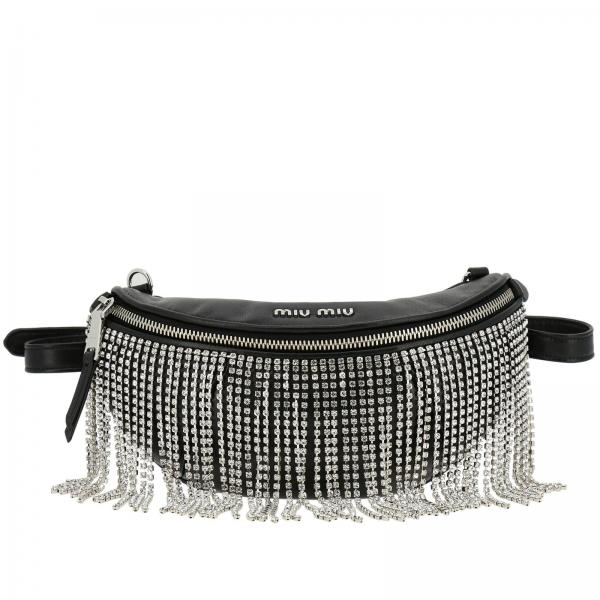 Miu Miu Women s Black Belt Bag  ac276ea156979