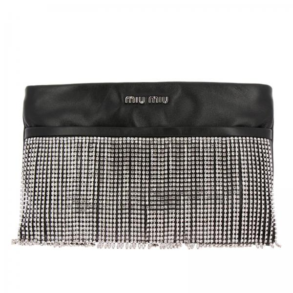 Miu Miu Women s Black Clutch  4557de2c12a35