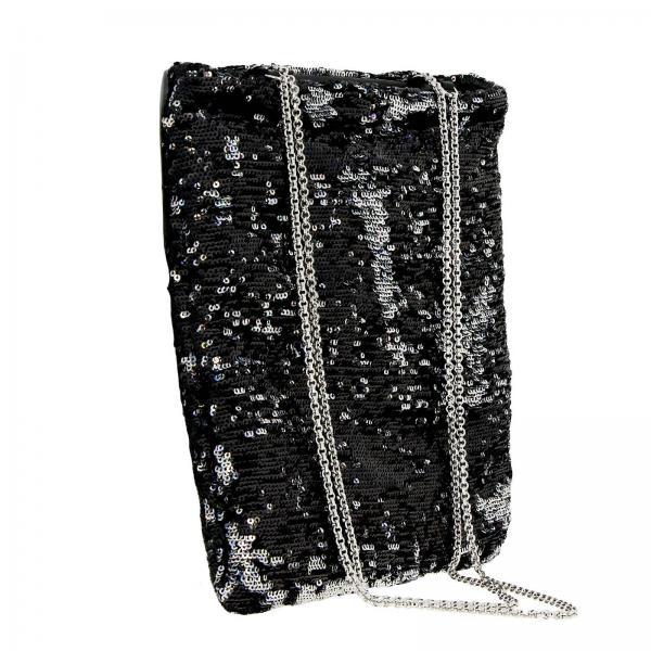 Borsa Paillettes Tessuto Di Logo 959 5bg011 Mini Bag Con MiuShopping Reversibili In Donna mnyv8wO0N